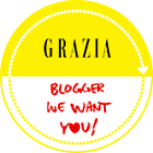 badge BLOGGER WE WANT YOU!